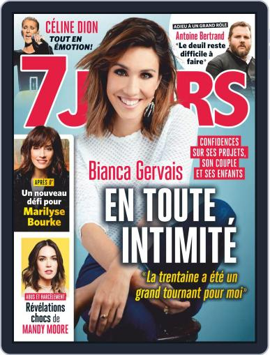 7 Jours (Digital) March 22nd, 2019 Issue Cover