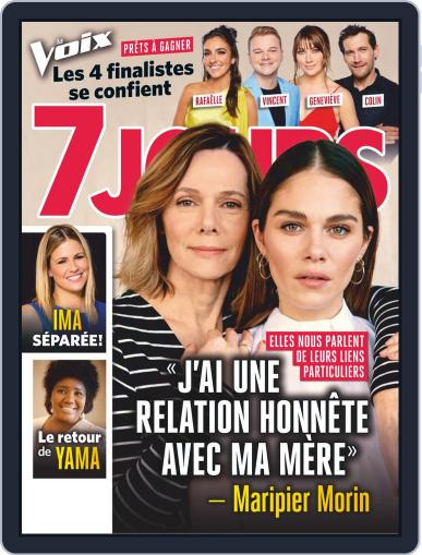 7 Jours (Digital) May 10th, 2019 Issue Cover