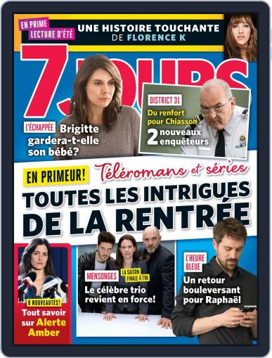 7 Jours (Digital) August 2nd, 2019 Issue Cover