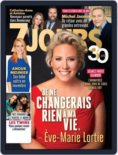 7 Jours September 20th, 2019 Digital Back Issue Cover