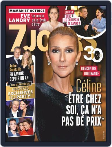 7 Jours (Digital) September 27th, 2019 Issue Cover