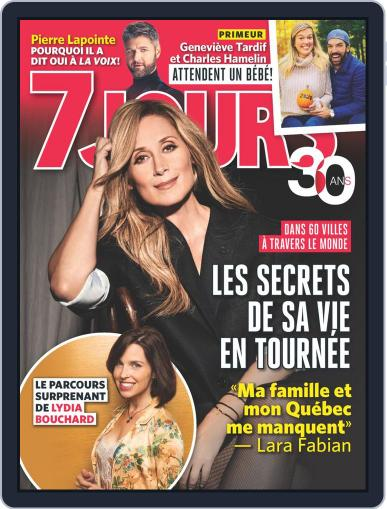 7 Jours (Digital) November 8th, 2019 Issue Cover