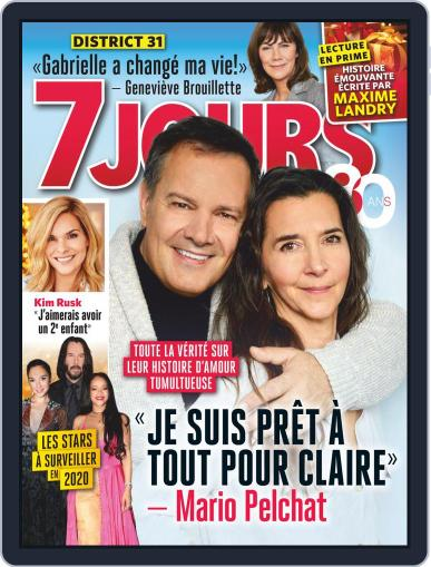 7 Jours (Digital) January 3rd, 2020 Issue Cover