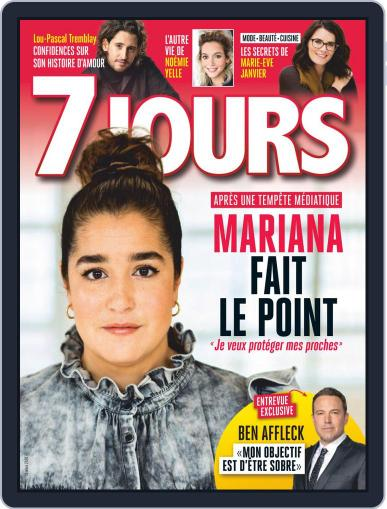 7 Jours (Digital) March 13th, 2020 Issue Cover