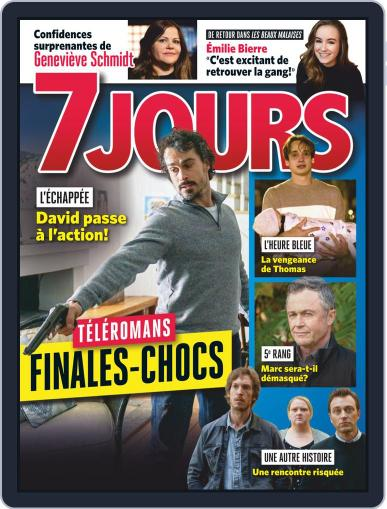 7 Jours (Digital) March 27th, 2020 Issue Cover