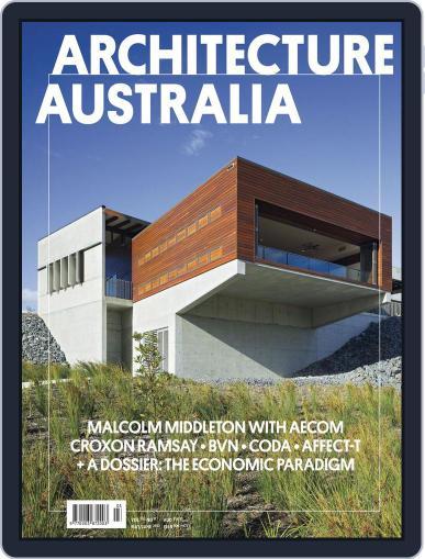 Architecture Australia (Digital) June 4th, 2012 Issue Cover