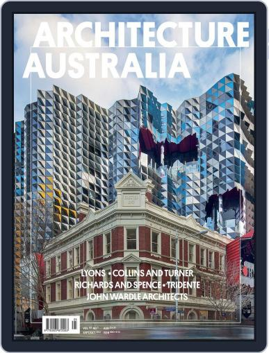 Architecture Australia (Digital) September 2nd, 2012 Issue Cover
