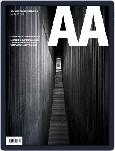 Architecture Australia (Digital) March 24th, 2013 Issue Cover