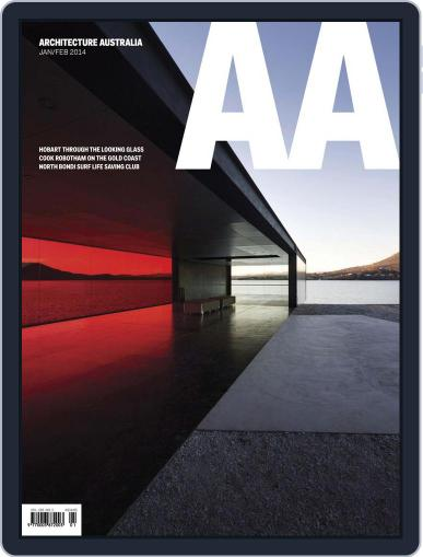 Architecture Australia February 2nd, 2014 Digital Back Issue Cover