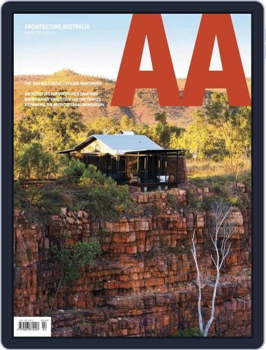 Architecture Australia (Digital) March 23rd, 2014 Issue Cover