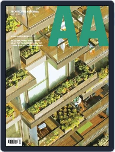 Architecture Australia May 4th, 2014 Digital Back Issue Cover