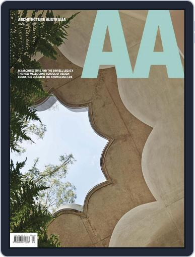 Architecture Australia (Digital) February 2nd, 2015 Issue Cover