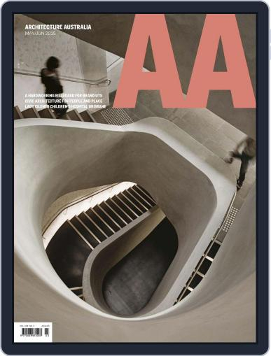 Architecture Australia May 1st, 2015 Digital Back Issue Cover