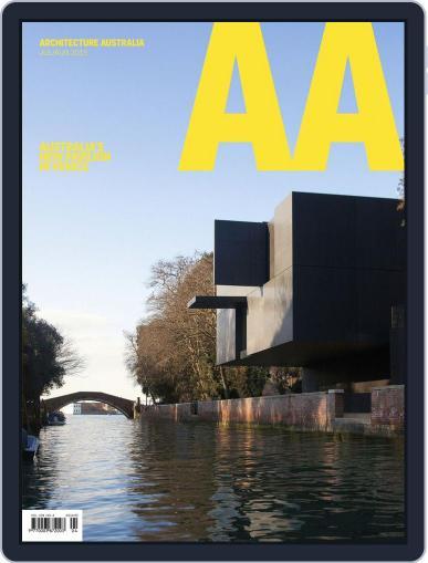 Architecture Australia (Digital) July 5th, 2015 Issue Cover