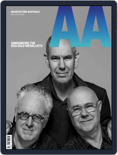 Architecture Australia May 2nd, 2016 Digital Back Issue Cover