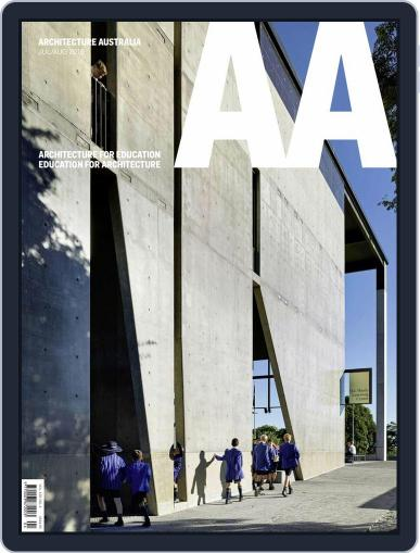 Architecture Australia July 1st, 2016 Digital Back Issue Cover