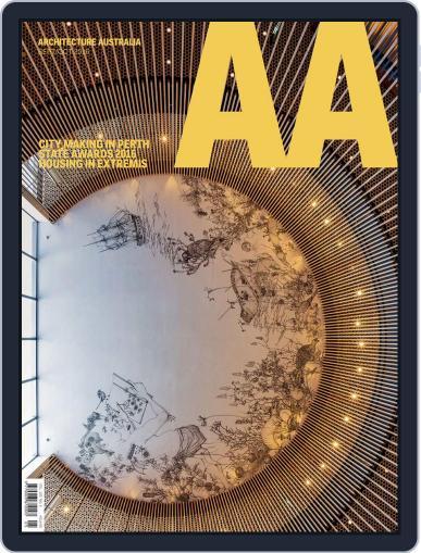 Architecture Australia September 1st, 2016 Digital Back Issue Cover