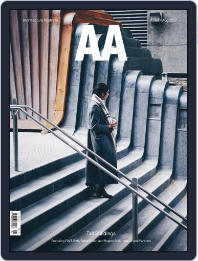Architecture Australia July 1st, 2017 Digital Back Issue Cover