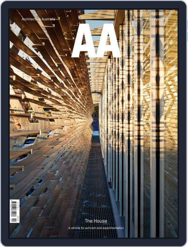 Architecture Australia (Digital) March 1st, 2018 Issue Cover