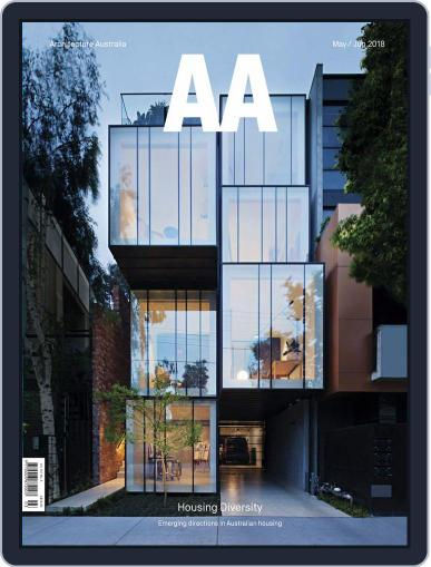 Architecture Australia (Digital) May 1st, 2018 Issue Cover