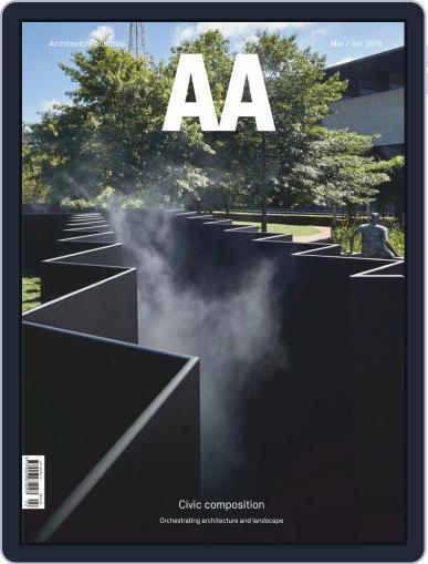 Architecture Australia (Digital) March 1st, 2019 Issue Cover