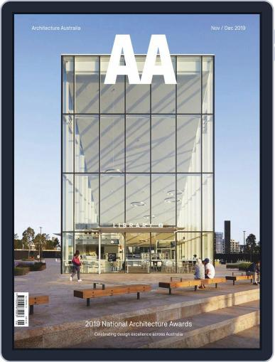 Architecture Australia (Digital) November 1st, 2019 Issue Cover