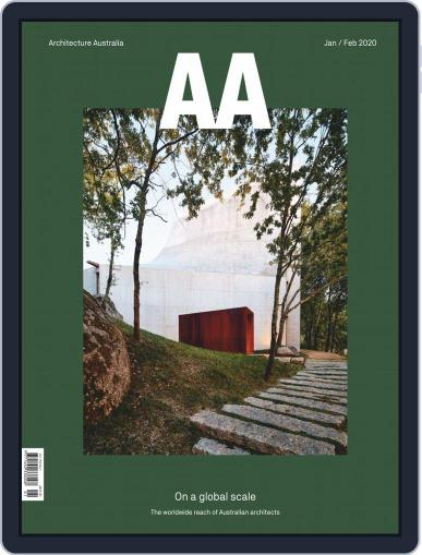 Architecture Australia (Digital) January 1st, 2020 Issue Cover