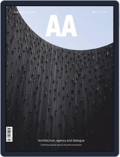 Architecture Australia March 1st, 2020 Digital Back Issue Cover