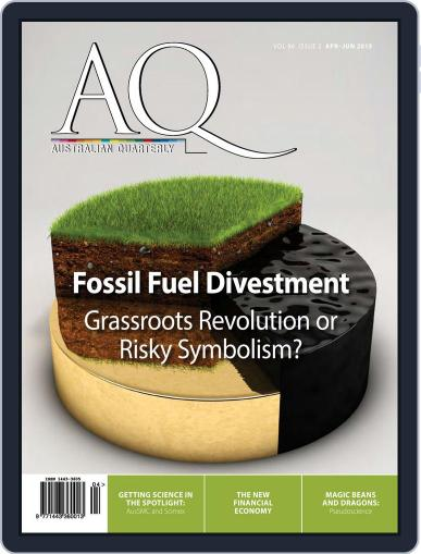 AQ: Australian Quarterly June 9th, 2015 Digital Back Issue Cover
