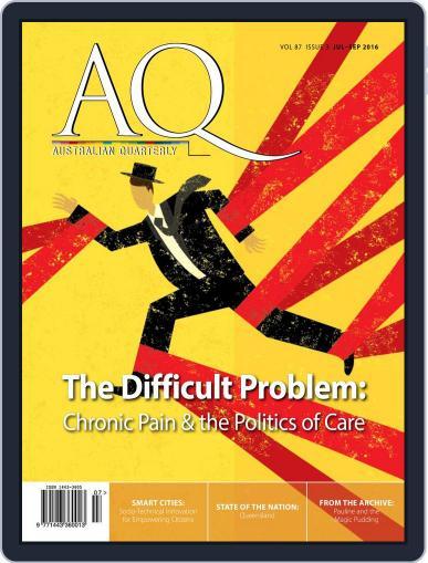 AQ: Australian Quarterly (Digital) June 30th, 2016 Issue Cover