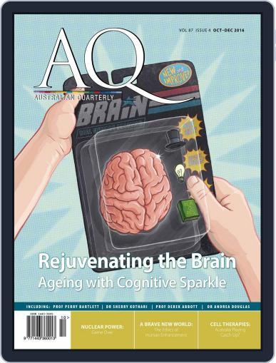 AQ: Australian Quarterly October 1st, 2016 Digital Back Issue Cover