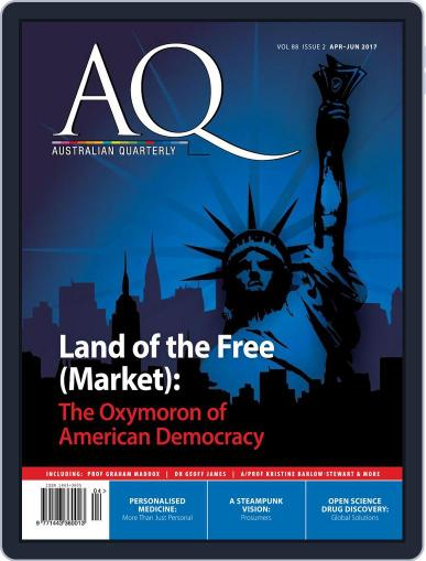 AQ: Australian Quarterly April 1st, 2017 Digital Back Issue Cover