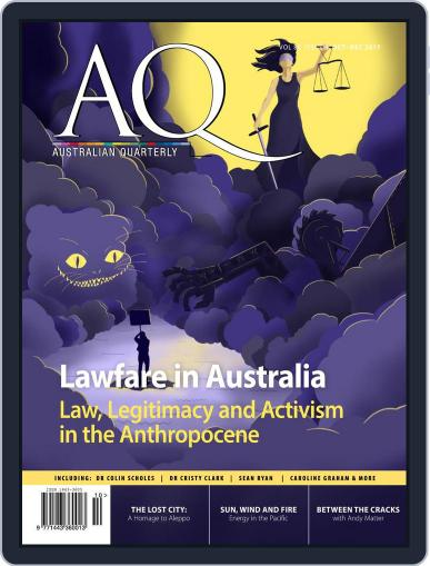 AQ: Australian Quarterly October 1st, 2017 Digital Back Issue Cover