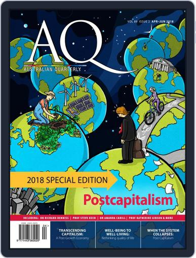 AQ: Australian Quarterly April 1st, 2018 Digital Back Issue Cover