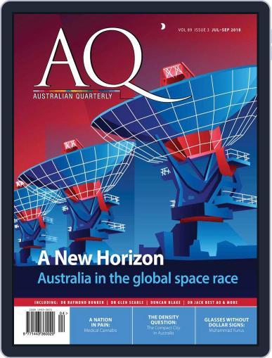 AQ: Australian Quarterly July 1st, 2018 Digital Back Issue Cover