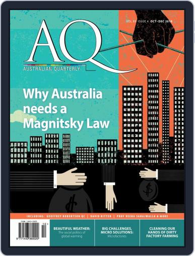AQ: Australian Quarterly October 1st, 2018 Digital Back Issue Cover