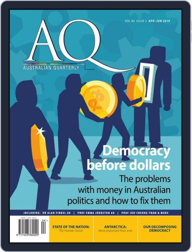 AQ: Australian Quarterly April 1st, 2019 Digital Back Issue Cover