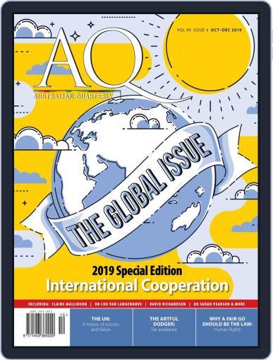 AQ: Australian Quarterly October 1st, 2019 Digital Back Issue Cover