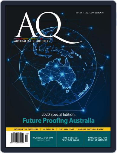 AQ: Australian Quarterly April 1st, 2020 Digital Back Issue Cover