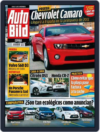 Auto Bild Es August 6th, 2010 Digital Back Issue Cover