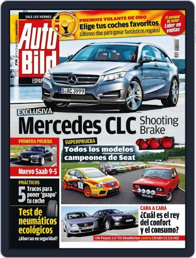 Auto Bild Es August 12th, 2010 Digital Back Issue Cover