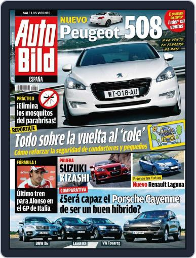Auto Bild Es (Digital) September 9th, 2010 Issue Cover