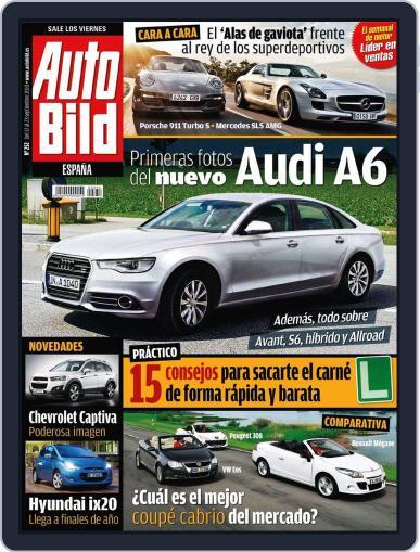 Auto Bild Es September 16th, 2010 Digital Back Issue Cover