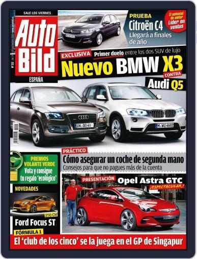 Auto Bild Es September 23rd, 2010 Digital Back Issue Cover
