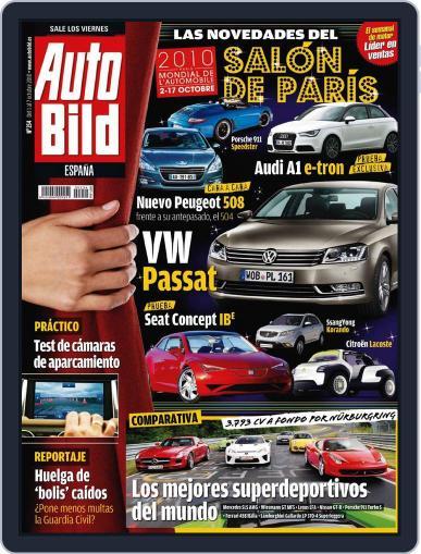 Auto Bild Es (Digital) September 30th, 2010 Issue Cover