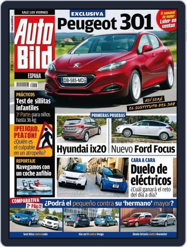 Auto Bild Es (Digital) October 29th, 2010 Issue Cover
