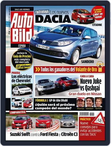 Auto Bild Es November 12th, 2010 Digital Back Issue Cover