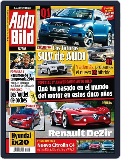 Auto Bild Es (Digital) November 18th, 2010 Issue Cover