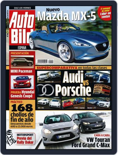 Auto Bild Es (Digital) December 23rd, 2010 Issue Cover