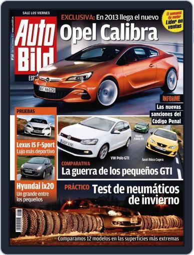Auto Bild Es (Digital) January 7th, 2011 Issue Cover